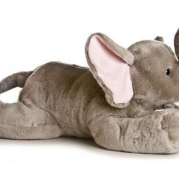 Big Gray Stuffed Toy Elephant