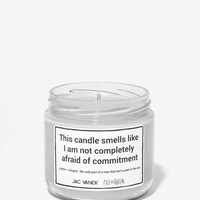 Jac Vanek Commitment Phobe Scented Candle