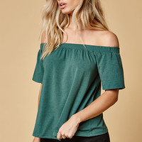 MinkPink Off-The-Shoulder T-Shirt at PacSun.com