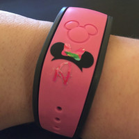 Lilly Pulitzer Inspired Disney Magic Band Decal | Walt Disney Decal | First Disney Vacation | First Disney Trip | Magic Band Sticker | 178