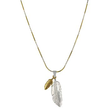 Dakota Necklace {Sterling Silver and Gold Vermeil}