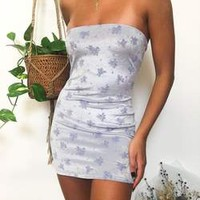 COMING SOON☆STELLA BLUE VELVET MINI DRESS☆SIGN UP TO BE NOTIFIED