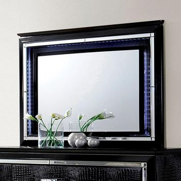 Bellaova Contemporary Style Mirror, Black