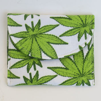 Cannabis wallet - 420 wallet - Mary jane Wallet - Medical card wallet