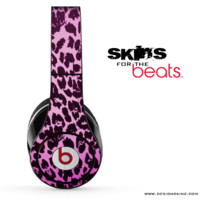 Hot Pink Cheetah Skin for the Beats by Dre