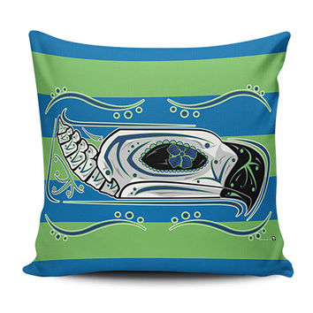 Seahawks Limited Edition Sugar Skull Pillow Covers