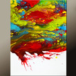 Abstract Art  Painting 18x24 Canvas Contemporary Art Paintings by Destiny Womack - dWo - Edge of Reality