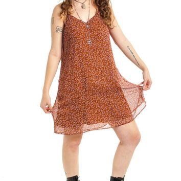 Vintage Y2K Mudd Floral Mini Dress - XL