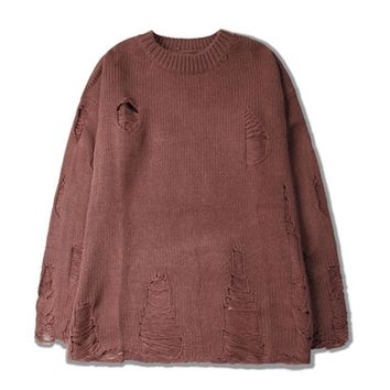 Distressed Mens Sweaters