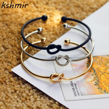 Very Simple Love Knot Bracelet