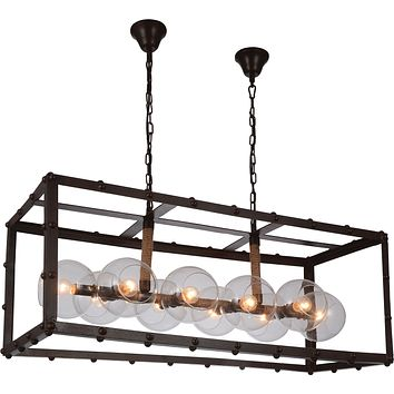 Okee Ceiling Lamp, Antique Coffee