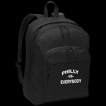 Philly vs. Everybody Embroidered Basic Backpack