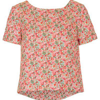 Premium Floral Jacquard Tee - New In This Week  - New In