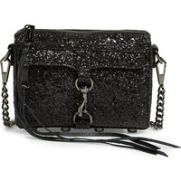 Rebecca Minkoff 'Glitter Micro MAC' Convertible Crossbody Bag | Nordstrom