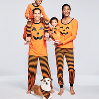 Family PajamasPumpkin Pajama Sets, Created for Macy's