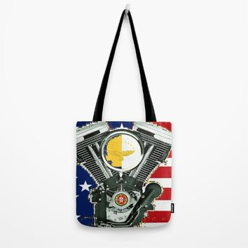 Portuguese Immigrant motorcycle Culture. Tote Bag by Tony Silveira