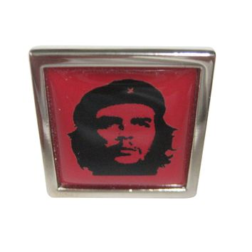 Bordered Che Guevara Adjustable Size Fashion Ring