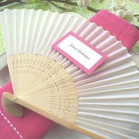Silk Hand Fans - Colored
