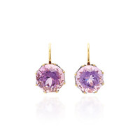 18K Yellow Gold, Amethyst Earrings | Moda Operandi