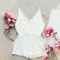 White Avalon Romper