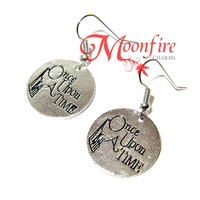 ONCE UPON A TIME Fairytale Quote Earrings