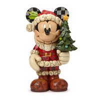 Santa Mickey Mouse ''Old St. Mick'' Nutcracker Figure by Jim Shore