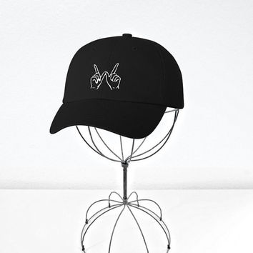 Whatever Forever Embroidered Baseball Cap