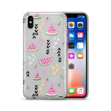 Pink Party - Clear TPU Case Cover