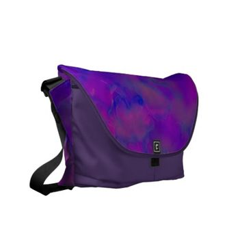 "Rickshaw Messenger Bag ""Tie Dye"" design"