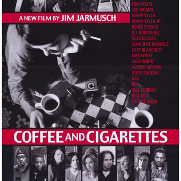 Coffee and Cigarettes 27x40 Movie Poster (2004)