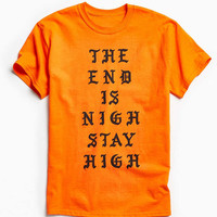 Division Of Labor The End Is Nigh Tee - Urban Outfitters
