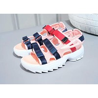 FILA Disruptor 2 Sandal Summer Fashion Women Men Shoe Pink I-AHXF