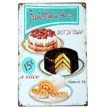 Fiesh Baked Goods Wall Signs