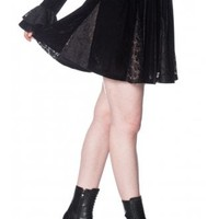 Banned Apparel Poison Gothic Skirt | Attitude Clothing