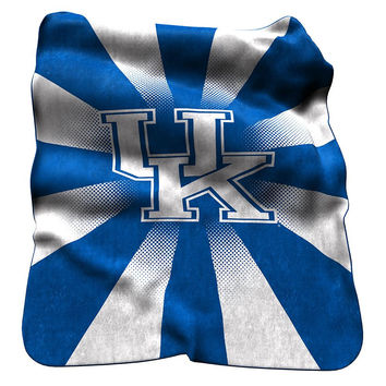 Kentucky Wildcats NCAA Raschel Throw