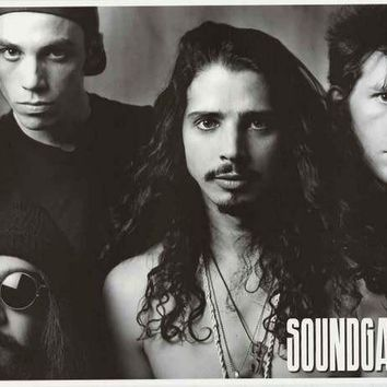 Soundgarden Band Poster 24x34