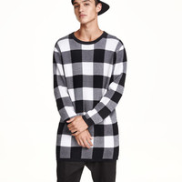 Plaid Sweater - from H&M