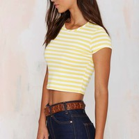 After Party Vintage Elina Crop Tee