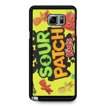 Sour Patch Kids Candy Package Front Samsung Galaxy Note 5 Case