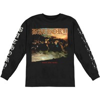 Bathory Men's  Blood Fire Death  Long Sleeve Black