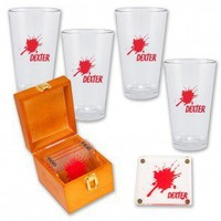 Dexter Coaster + Pint Glass Set,  Showtime  Showtime Shows  Dexter , Showtime Store