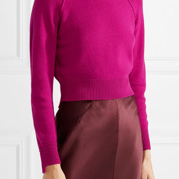 Helmut Lang - Cropped cashmere sweater