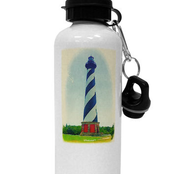 Watercolor Lighthouse 1 Aluminum 600ml Water Bottle