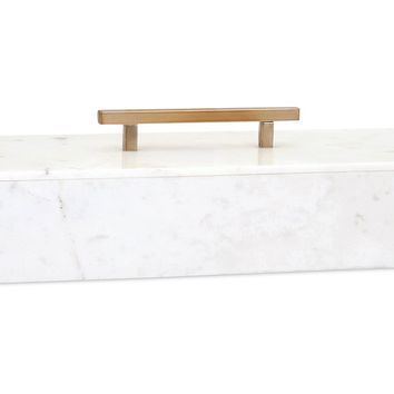 Keely Marble Lidded Box - Free Shipping!