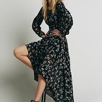 Free People Womens Fireside Tale Dress