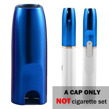 iQOS Cap IQOS Holder Cover Case for IQOS 2.4 / 2.4 Plus Electronic Cigarette, High Temperature resistance, Limited Edition Color,CAP ONLY (Blue)