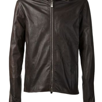 A Diciannoveventitre Leather Jacket