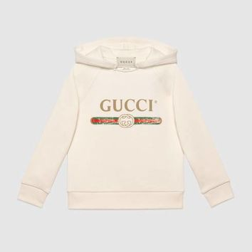 Gucci - Children's sweatshirt with Gucci logo