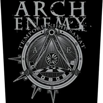 Arch Enemy Back Patch - Tempore Nihil Sanat
