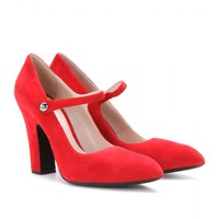 mytheresa.com -  Suede pumps - shoes - Luxury Fashion for Women / Designer clothing, shoes, bags